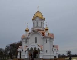 В Туровской епархии  освящен храм в честь новомученика Алексия Лельчицкого