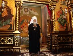 Почетный Патриарший Экзарх всея Беларуси поздравил Святейшего Патриарха Кирилла с 70-летием