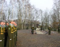 Накануне дня памяти Архистратига Божия Михаила белорусские пограничники молились за праздничным богослужением