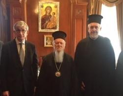 Лидер Всемирного конгресса украинцев попросил Патриарха Варфоломея предоставить автокефалию Украинской Православной Церкви