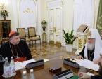 Предстоятель Русской Православной Церкви встретился с кардиналом Куртом Кохом