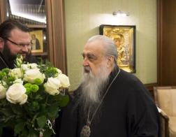 Митрополит Филарет встретился с митрополитом Смоленским и Рославльским Исидором