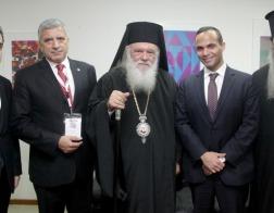 Архиепископ Афинский и всей Греции Иероним встретился с советником Дональда Трампа