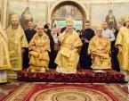 Предстоятель Украинской Православной Церкви возглавил торжества по случаю 20-летия Введенского монастыря в Киеве
