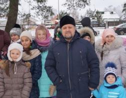 Клуб исторической реконструкции «Дикая охота» стал гостем Свято-Троицкого прихода в Боровлянах