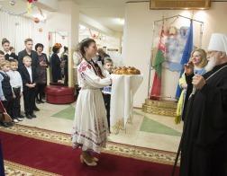 Митрополит Павел принял участие в праздновании 50-летия гимназии № 11 города Минска