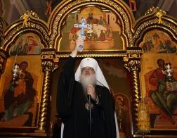 В день памяти святителя Николая Чудотворца митрополит Филарет молился и причастился Святых Христовых Таин за Литургией в Гродненском Рождество-Богородичном монастыре