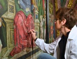 В Апостольском дворце в Ватикане завершается реставрация апартаментов Борджиа