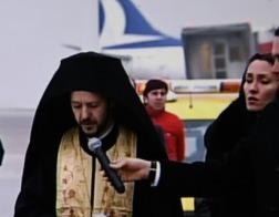 Священнослужитель Константинопольского Патриархата совершил заупокойную молитву над гробом Андрея Карлова