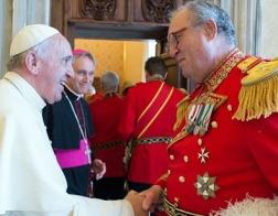 Мальтийский Орден попросил Папу Франциска не вмешиваться во внутренние дела рыцарей