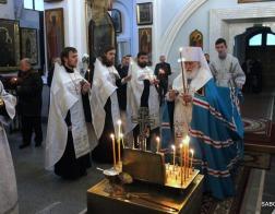 Митрополит Павел совершил заупокойную литию по погибшим в результате крушения самолета ТУ-154 Министерства обороны Российской Федерации