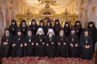 Журналы заседания Синода Белорусского Экзархата от 13 декабря 2016 года
