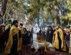 Предстоятель Русской Православной Церкви совершил на русском кладбище Сен-Женевьев-де-Буа молитву о соотечественниках, скончавшихся вдали от Родины