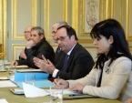 Состоялась встреча Святейшего Патриарха Кирилла с Президентом Франции Ф. Олландом