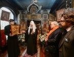Святейший Патриарх Кирилл посетил Русский дом в Сен-Женевьев-де-Буа