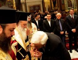 Архиепископ Афинский и всей Греции Иероним возглавил благодарственный молебен по случаю начала Нового года