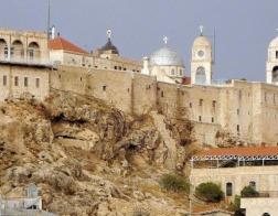 На Рождество президент Сирии Башар аль-Асад посетил православный монастырь