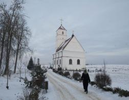 Митрополит Павел совершил Литургию в Преображенском соборе города Заславля