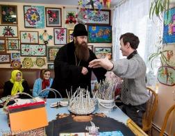 Епископ Слуцкий Антоний поздравил насельников Несвижского дома-интерната для престарелых и инвалидов с Рождеством Христовым