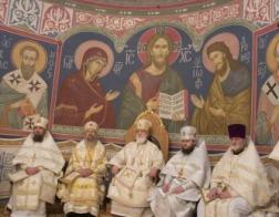 В день памяти святителя Макария Московского Патриарший Экзарх возглавил Литургию в Полоцком Спасо-Евфросиниевском монастыре