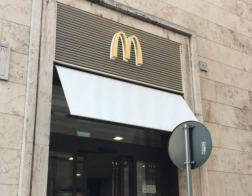 Закусочная Макдональдс в Ватикане начинает бесплатно подкармливать бездомных