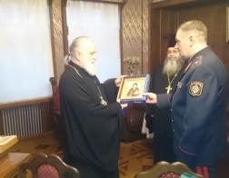 Патриарший Экзарх встретился с начальником Департамента исполнения наказаний МВД Республики Беларусь