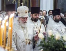 В канун праздника Крещения Господня Патриарший Экзарх совершил всенощное бдение в Свято-Духовом кафедральном соборе города Минска