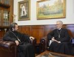Председатель Отдела внешних церковных связей встретился с временным настоятелем англиканского прихода в Москве