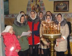 XIII межприходской вечер рождественских песнопений «Звезда Вифлеема» прошел в Озятах