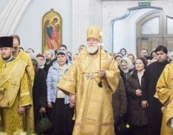 В канун Недели 31-й по Пятидесятнице Патриарший Экзарх совершил всенощное бдение в Свято-Духовом кафедральном соборе города Минска