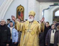В Неделю 31-ю по Пятидесятнице митрополит Павел совершил Литургию в Свято-Духовом кафедральном соборе города Минска