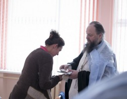 Архиепископ Новогрудский и Слонимский Гурий освятил акушерское отделение и родильные палаты Слонимской центральной районной больницы