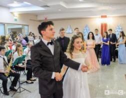 Четвертый бал православной молодежи «Татьянин день» прошел в Кобрине