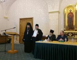 В Международных Рождественских чтениях приняла участие делегация тюремных священников Белорусского Экзархата