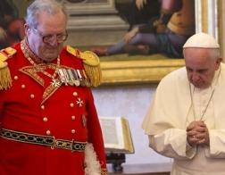 Папа Франциск продвинулся дальше по пути поглощения Мальтийского ордена Римской курией