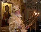 Наместник Валаамского монастыря освятил храм св. блгв. кн. Александра Невского на подворье обители в Москве