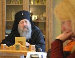 В преддверии Дня православной молодежи архиепископ Полоцкий и Глубокский Феодосий встретился с журналистами