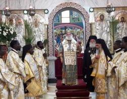 Патриарх Александрийский прибыл с визитом в Демократическую Республику Конго