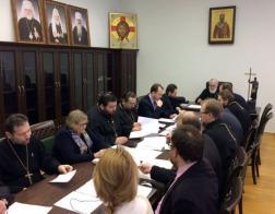 Патриарший Экзарх возглавил заседание Ученого совета Минской духовной академии