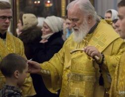 В канун Недели о Страшном суде митрополит Павел совершил всенощное бдение в Свято-Духовом кафедральном соборе города Минска