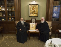 Митрополит Филарет поздравил митрополита Павла с 65-летием со дня рождения