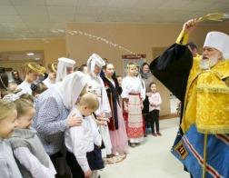 Патриарший Экзарх совершил освящение нового учебного корпуса Детской хореографической школы искусств № 1 города Минска