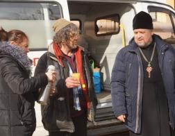 Участие в профилактической акции «Социальный патруль» приняли священнослужители