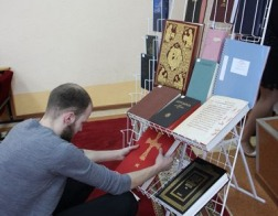 Студенты-теологи провели лекцию для старшеклассников всех школ Ганцевичского района