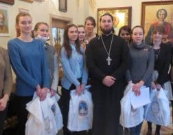 Клирик Минской епархии поздравил с масленицей пациентов детского онкоцентра в Боровлянах