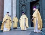 Ковчег с частицами мощей особо почитаемых святых передан в Исаакиевский собор