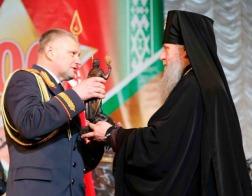 Архиепископ Витебский и Оршанский Димитрий удостоен награды «За укрепление авторитета и личный вклад в развитие милиции Витебской области»