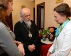 Уполномоченный при Президенте РФ по правам ребенка и председатель Синодального отдела по благотворительности посетили православный кризисный центр «Дом для мамы»