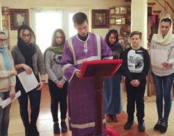 В Великий пост волковысское братство возносит молитвы о болящих