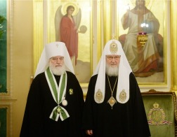 Патриарший Экзарх всея Беларуси принял участие в заседании Священного Синода Русской Православной Церкви